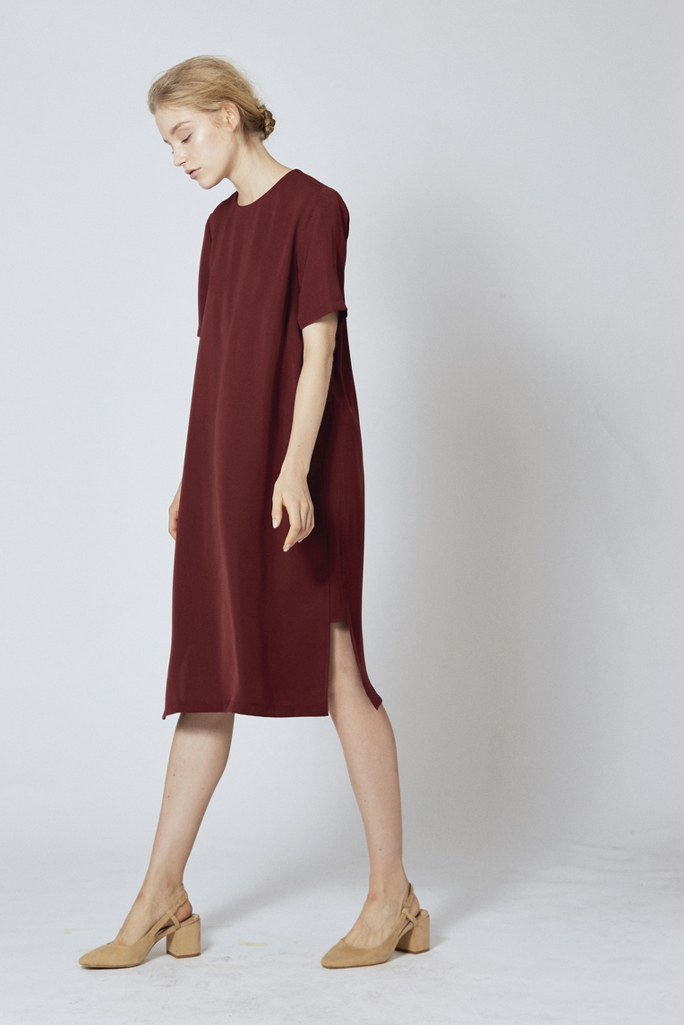 Midi Shift Dress