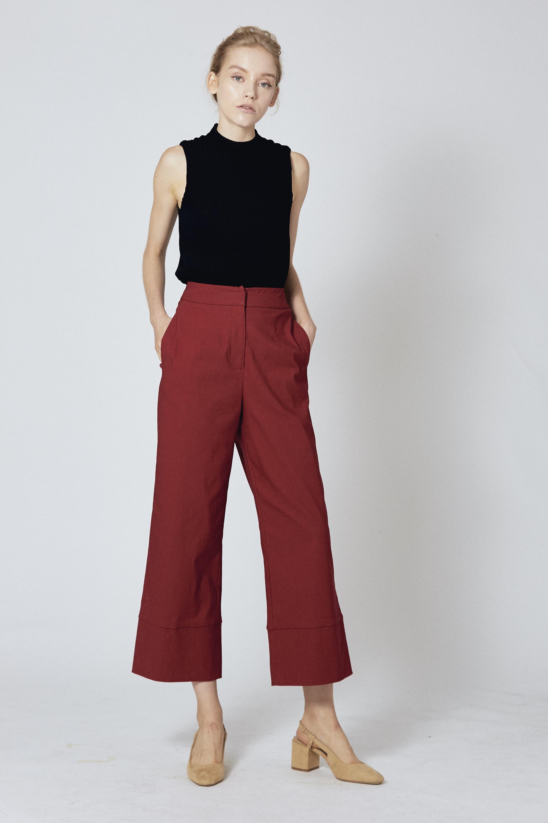 Broad Hem Pants