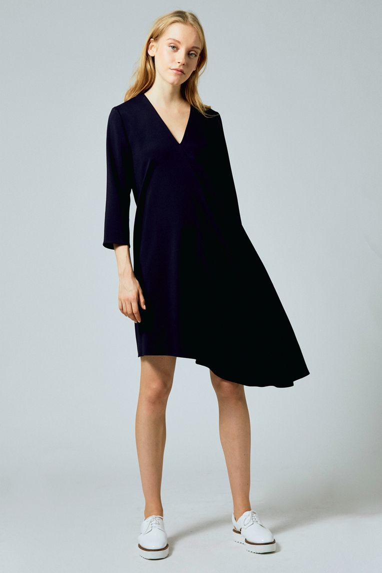 Asymmetrical Shift Dress