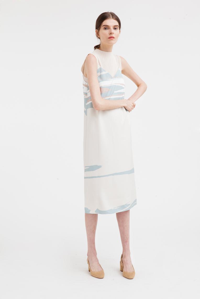 Wavelength Slip Dress