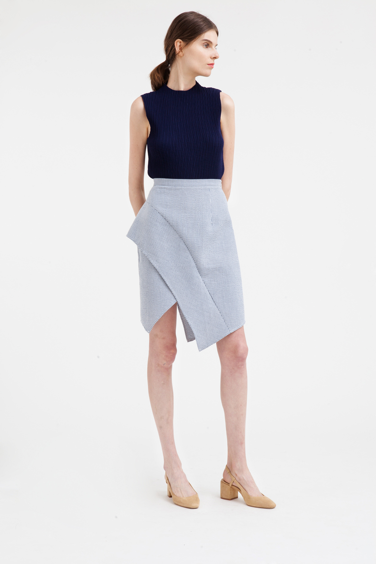 Wavelength Layered Skirt