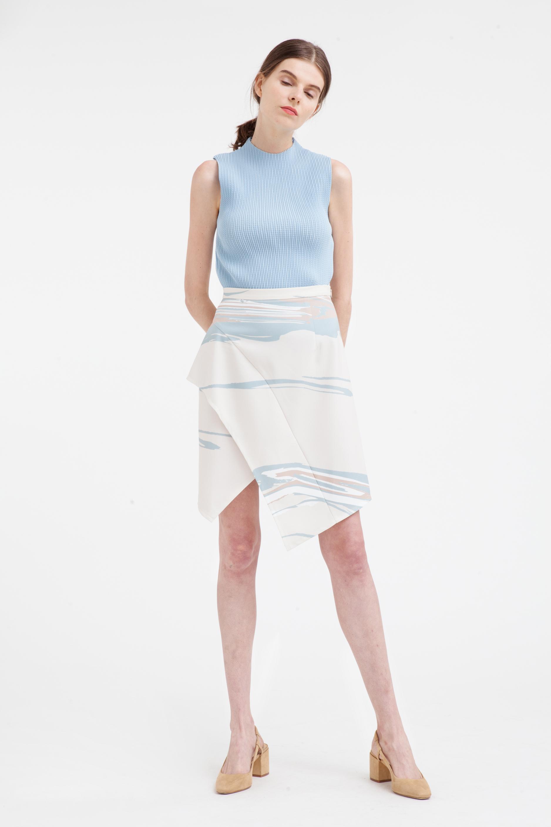 Wavelength Layered Skirt