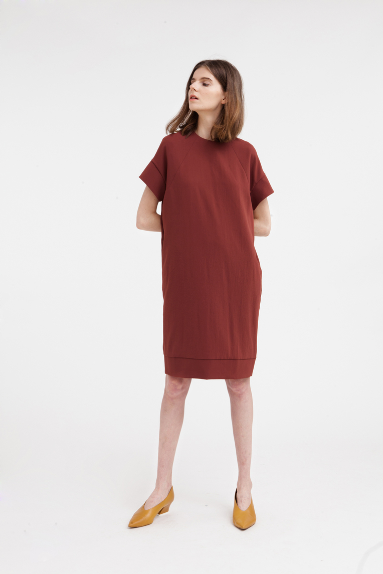Broad Hem Dress