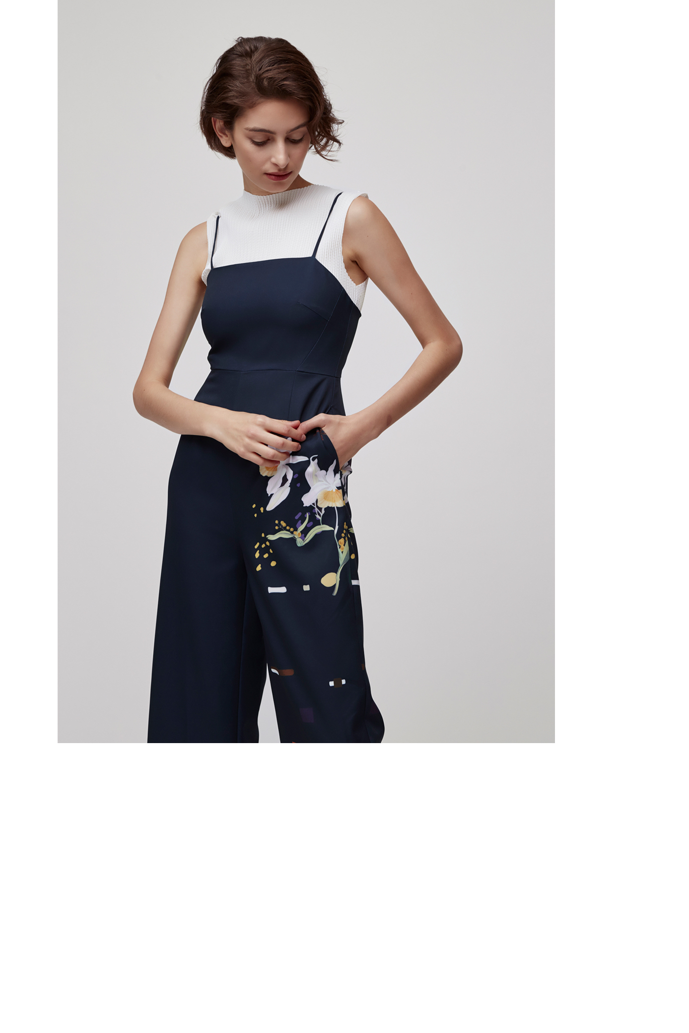 Lily of the Valley Jumpsuit